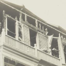 Burned Building on Eagle Av...