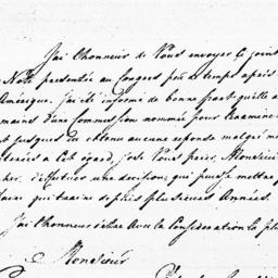Document, 1785 March 21