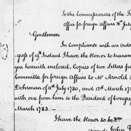 Document, 1786 July 31