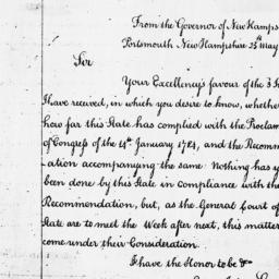 Document, 1786 May 25