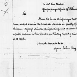 Document, 1788 February 19