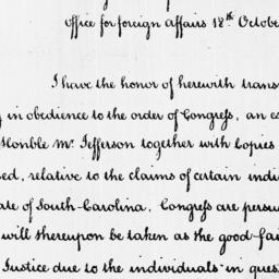 Document, 1787 October 18