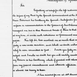 Document, 1787 September 29