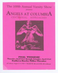 Angels at Columbia: Centennial Approaches