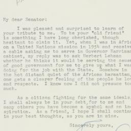 Letter: 1956 June 8
