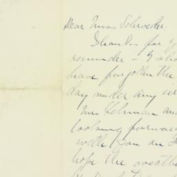 Letter: 1911 July 31