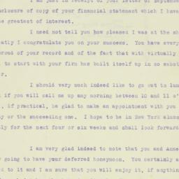 Letter : 1921 September 19