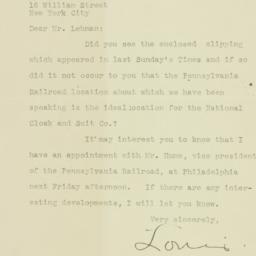 Letter: 1926 January 5