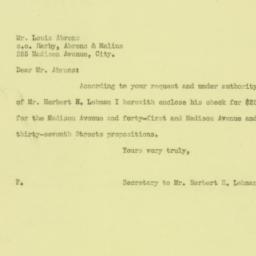 Letter: 1926 June 14
