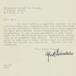 Letter: 1933 January 24