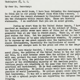 Letter: 1950 January 14