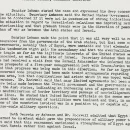 Memorandum: 1940 March 10