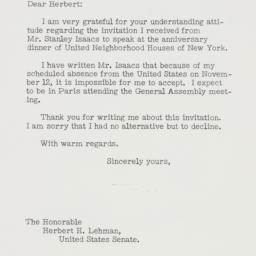 Letter: 1951 September 24