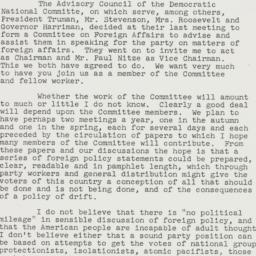 Letter: 1957 August 22
