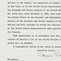 Letter: 1950 June 21
