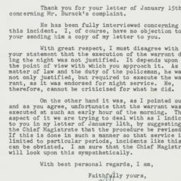 Letter: 1955 January 24