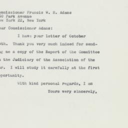 Letter : 1959 October 17