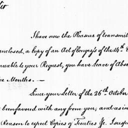 Document, 1785 August 09