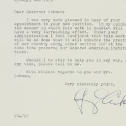 Letter : 1940 November 30
