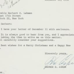 Letter: 1958 December 15