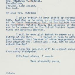 Letter: 1941 September 11