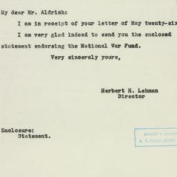 Letter: 1943 June 7