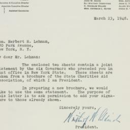Letter: 1948 March 23
