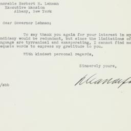 Letter : 1941 February 17