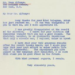 Letter : 1941 March 13