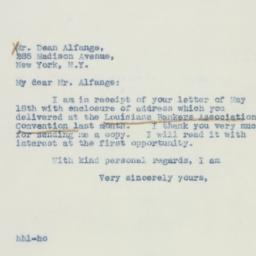 Letter: 1942 May 23