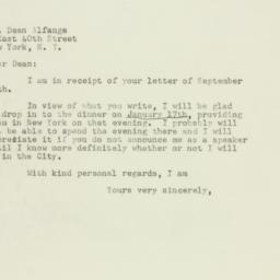 Letter: 1947 September 30