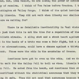 Speech: 1941 May 2