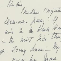 Letter: 1946 September 5