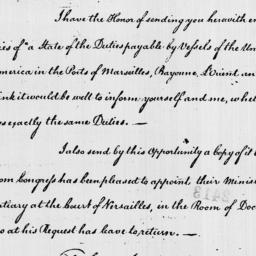 Document, 1785 April 15