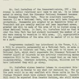 Memorandum : 1956 April 20