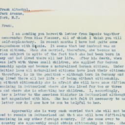 Letter: 1936 April 8