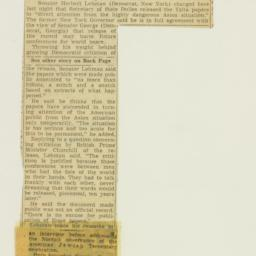 Clipping : 1955 March 21