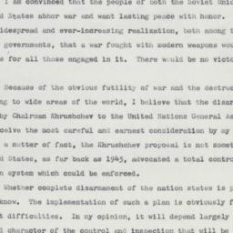 Press Release: 1959 October 23