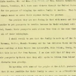 Letter : 1923 January 20