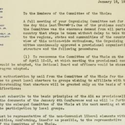 Letter: 1946 January 18