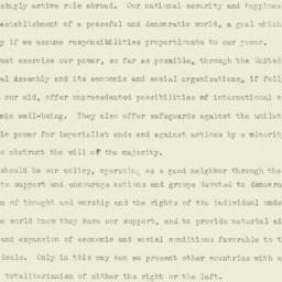 Administrative Record: 1947...