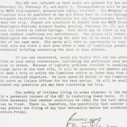 Letter : 1955 January 21