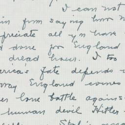 Letter : 1940 August 17