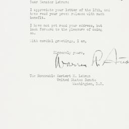 Letter : 1950 December 20