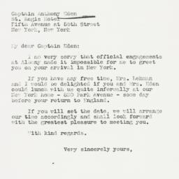 Letter : 1938 December 11