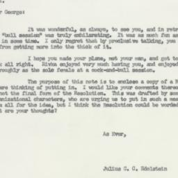 Letter : 1956 May 24