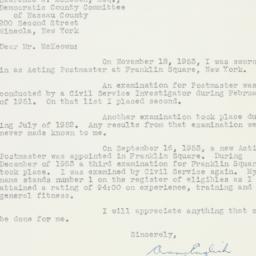 Letter: 1954 April 22