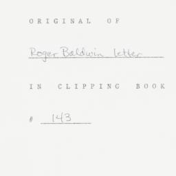 Letter: 1953 February 10