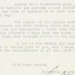 Letter : 1955 July 6