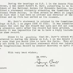 Letter : 1955 April 30